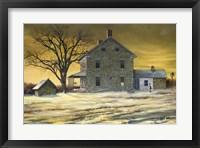 Framed January Evening