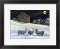 Framed January Fleece