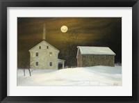Framed Millers Moon