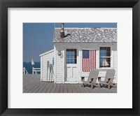 Framed Dockside Flag