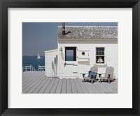 Framed Dock House