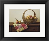 Framed Still Life With Pears