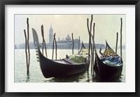 Framed Gondolas, Venice