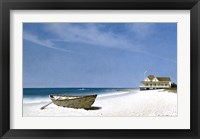 Framed Beach House View 2