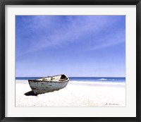 Beached Boat 3 Framed Print