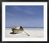 Beached Boat 2 Framed Print