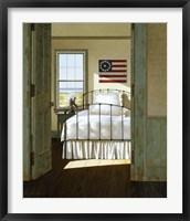 Framed Beach House Bedroom