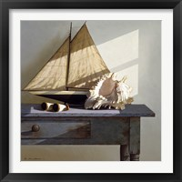 Framed Shell & Sail