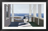 Framed Striped Hammock