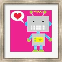 Framed Robot - Pink