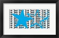 Twin Stars Framed Print