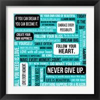 Framed Never Give Up 3