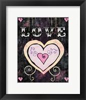 Heart - Love Framed Print