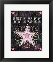 Star - Wish Framed Print
