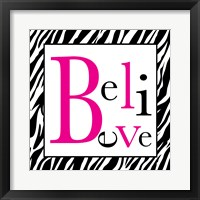 Believe 1 Framed Print