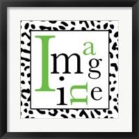 Imagine 1 Framed Print