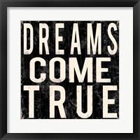 Dreams Come True Framed Print