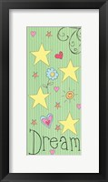Framed Dream Panel - Green