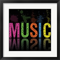 Music 2 Framed Print