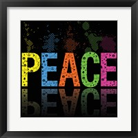 Peace 5 Framed Print