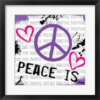 Framed Peace Is