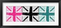 Framed Union Jack Three Square I