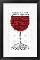 Red Wine 2 Framed Print