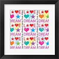 Dream Love Framed Print
