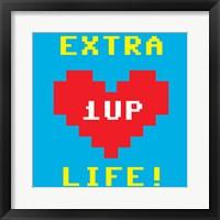 Extra Life Framed Print