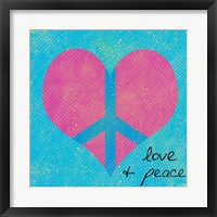 Framed Love and Peace 2