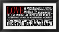 Framed Be Passionate 2