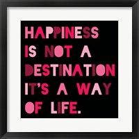 Happiness 4 Framed Print