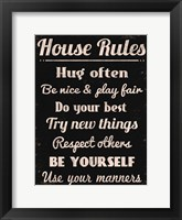 Framed House Rules 1