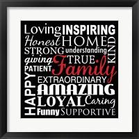 Loving Inspiring 2 Framed Print