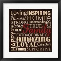 Loving Inspiring 4 Framed Print