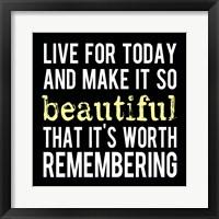 Make It So Beautiful 2 Framed Print