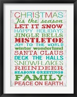 Christmas 1 Framed Print