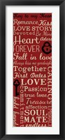 Key to My Heart 2 Framed Print