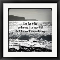 Inspiration - Shore Framed Print