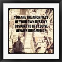 Framed Inspiration -  City