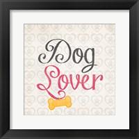 Dog Lover Framed Print