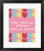 Framed What Makes You Different 2