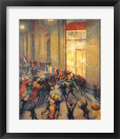 Framed Riot in the Gallery, 1910