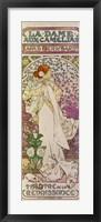 Framed La Dame aux Camelias, Sarah Bernhardt, Paris 1894