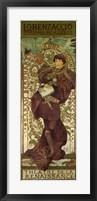 Framed Lorenzaccio, Paris, 1896