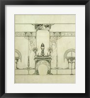 Framed Design for the Boutique of Jeweller Fouquet, 6, Rue Royale