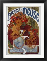 Framed Beers from the Meuse