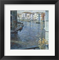 Framed Canal Grande in Venice