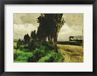 Framed Railway in a landscape, 1890-95