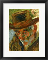 Framed Head of an Old Man 1909
